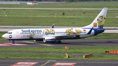 TC-SOH - Boeing 737-8HC - SunExpress