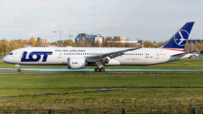 SP-LSG - Boeing 787-9 Dreamliner - LOT Polish Airlines