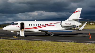 N917JC - Dassault Falcon 2000LX - Private
