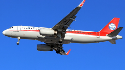 A picture of B1660 - Airbus A320232 - Sichuan Airlines - © skerry
