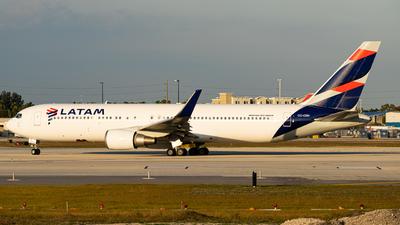 A picture of CCCXH - Boeing 767316(ER) - LATAM Airlines - © Boneyard Safari - Daniel Gonzalez