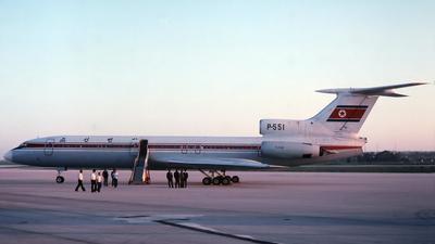 P-551 - Tupolev Tu-154B-2 - Air Koryo