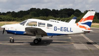 G-EGLL - Piper PA-28-161 Warrior II - Private