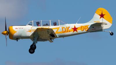 VH-TWP - Yakovlev Yak-52TW - Private