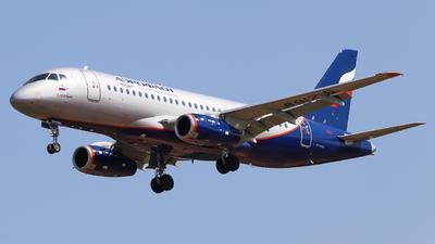 A picture of RA89125 - Sukhoi Superjet 10095B - Aeroflot - © Vitaly Revyakin