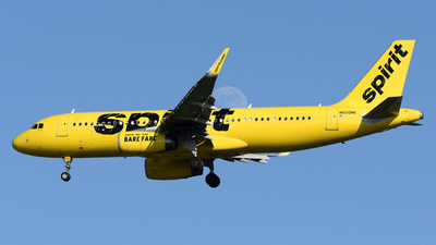 A picture of N650NK - Airbus A320232 - Spirit Airlines - © DJ Reed - OPShots Photo Team