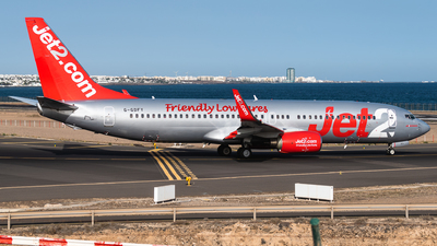 A picture of GGDFY - Boeing 73786Q - Jet2 - © Bartosz Szarszewski