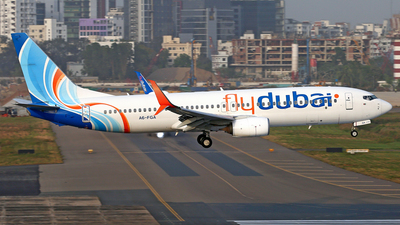 A picture of A6FGA - Boeing 7378KN - FlyDubai - © Raihan Ahmed