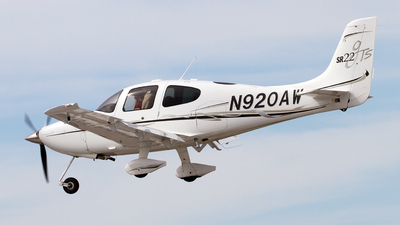 N920AW - Cirrus SR22-GTS - Private