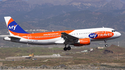 OY-VKM - Airbus A320-214 - MyTravel Airways