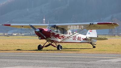 OE-AIL - Piper PA-18-150 Super Cub - Sportfliegerclub Lungau