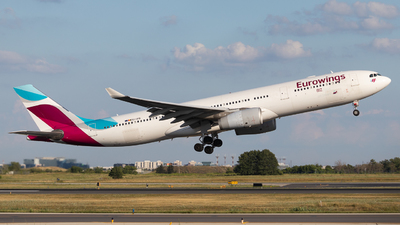 OO-SFB - Airbus A330-342 - Eurowings (Brussels Airlines)