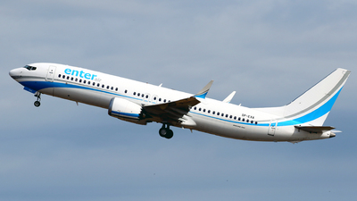 A picture of SPEXA - Boeing 737 MAX 8 - Enter Air - © Javier Rodriguez - Amics de Son Sant Joan