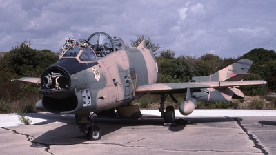 1803 - Fiat G91-T/3 - Portugal - Air Force