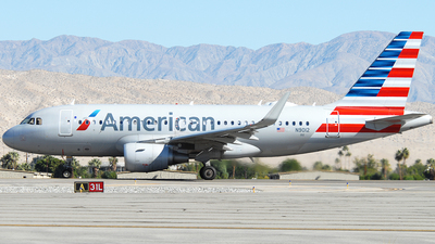 A picture of N9012 - Airbus A319115 - American Airlines - © Jason Whitebird