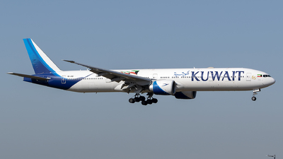 9K-AOC - Boeing 777-369ER - Kuwait Airways