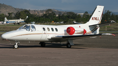 N74LL - Cessna 500 Citation - Private