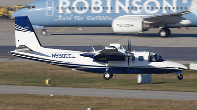A picture of N690CC - Rockwell 690B - [11379] - © Marco Wolf