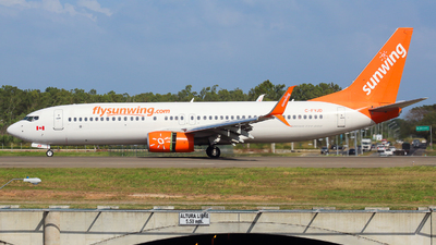A picture of CFYJD - Boeing 7378Q8 - Sunwing Airlines - © Alexis Navarro