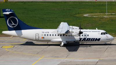 YR-ATB - ATR 42-500 - Tarom - Romanian Air Transport