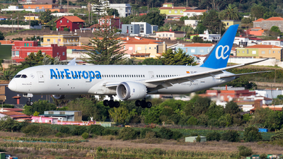 A picture of ECMTI - Boeing 7879 Dreamliner - Air Europa - © Tim-Patrick Müller