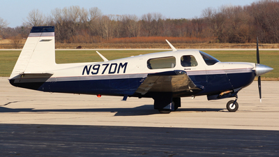 A picture of N97DM - Mooney M20J - [243409] - © Gary C. Orlando
