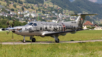 A picture of HBFXR - Pilatus PC12/47E - Pilatus Flugzeugwerke - © Alexandre Fazan