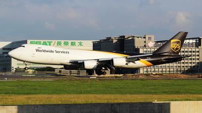 N613UP - Boeing 747-84AF - United Parcel Service (UPS)