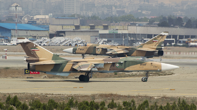 3-6805 - Sukhoi Su-24M Fencer - Iran - Air Force