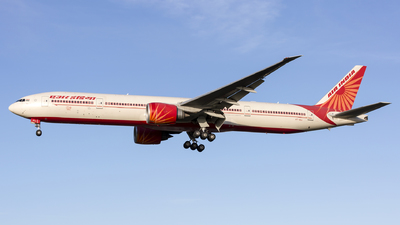 A picture of VTALL - Boeing 777337(ER) - Air India - © Dave Henderson