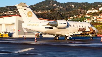 D-ANTR - Bombardier CL-600-2B16 Challenger 604 - MHS Aviation