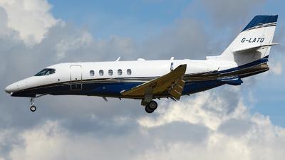A picture of GLATO - Cessna 680A Citation Latitude - Zenith Aviation - © David Blaker