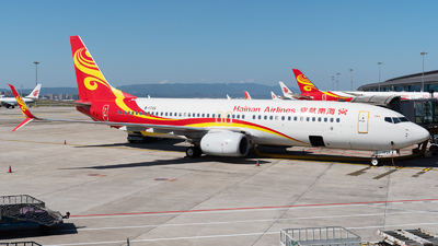 A picture of B1726 - Boeing 73784P - Hainan Airlines - © Mr.Huang
