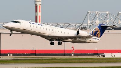 N447AW - Bombardier CRJ-200LR - United Express (Air Wisconsin)