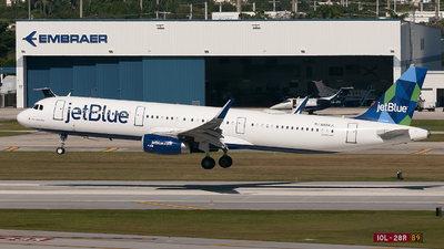 A picture of N994JL - Airbus A321231 - JetBlue Airways - © Mark Lawrence