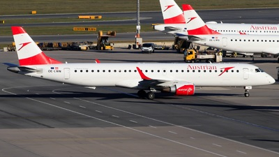 A picture of OELWN - Embraer E195LR - Austrian Airlines - © Felix Sourek