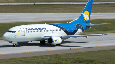 A picture of CFKCN - Boeing 73736N - Canadian North - © zhangmx969