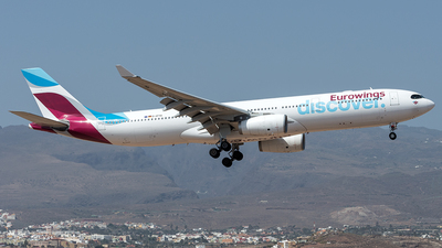D-AFYQ - Airbus A330-343 - Eurowings Discover