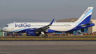 A picture of VTIJP - Airbus A320271N - IndiGo - © Robin Frosch
