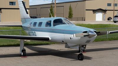 A picture of N27PG - Piper PA46350P Malibu Mirage - [4622104] - © Mike MacKinnon