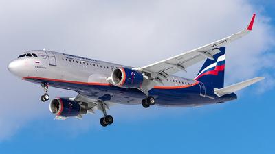 A picture of VPBTI - Airbus A320214 - Aeroflot - © Aleksandr Alekhichev