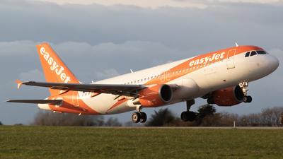 G-EZTM - Airbus A320-214 - easyJet