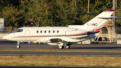 N174WC - Hawker Beechcraft 800XP - Private