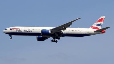 A picture of GSTBA - Boeing 777336(ER) - British Airways - © fablee
