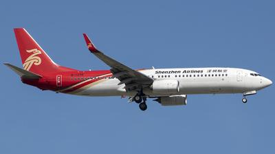 B-1376 - Boeing 737-87L - Shenzhen Airlines