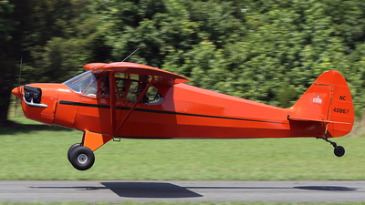 N40867 - Piper J-5A Cub Cruiser - Private