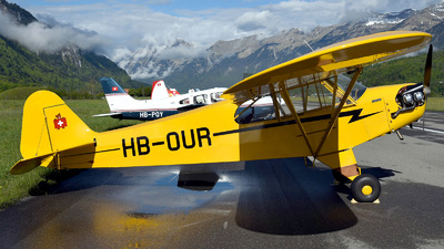 HB-OUR - Piper L-4H Cub - Private