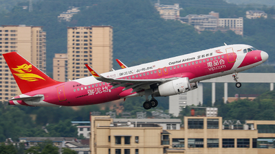 B-1621 - Airbus A320-232 - Capital Airlines