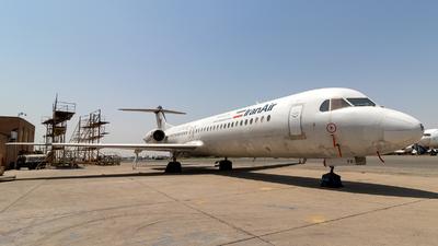 EP-CFR - Fokker 100 - Iran Air