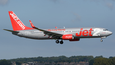 G-DRTW - Boeing 737-86N - Jet2.com